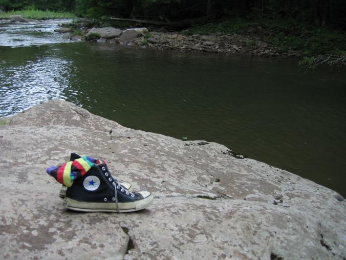 Barefoot in West Virginia