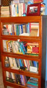 Books, books, and more books.