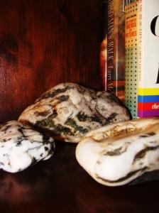 Souvenir rocks.