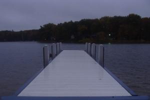 the white pier