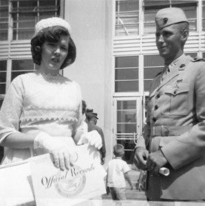 Marine Corps Veterans - Daddy and his Good Officer's Wife