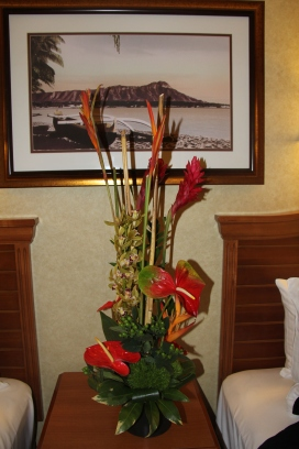 May 11 2017 Hawaii Room Flowers